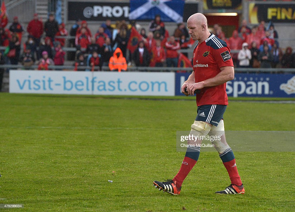Glasgow Warriors v Munster - Guinness Pro 12 Final : News Photo