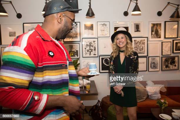 Paul Octavious and Molly McCafferty attend Sophia Bush and EBTH Host an Intimate Brunch to Celebrate Chicago's Top Design Tastemakers at Soho House...