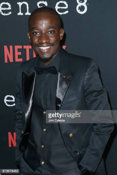 Paul Ogola attend the Season 2 Premiere of Netflix's Sense8 at AMC Lincoln Square Theater on April 26 2017 in New York City