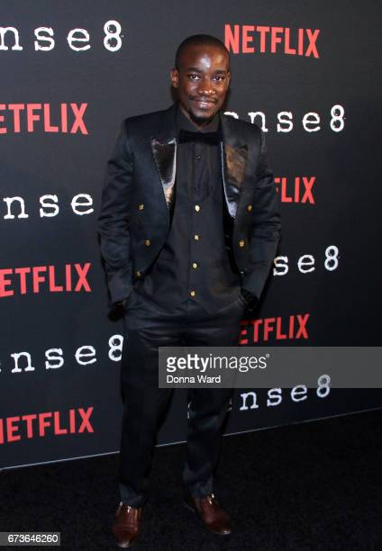 Paul Ogola attends the Sense8 New York Premiere at AMC Lincoln Square Theater on April 26 2017 in New York City