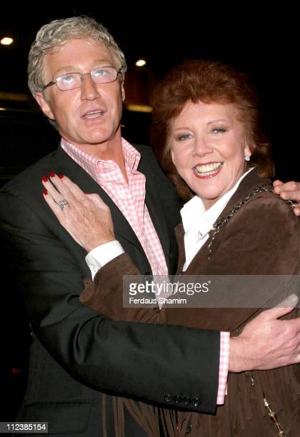 Paul O'Grady and Cilla Black during Attitude Magazines 10th Anniversary Party Arrivals at Atlantic Bar and Grill in London Great Britain