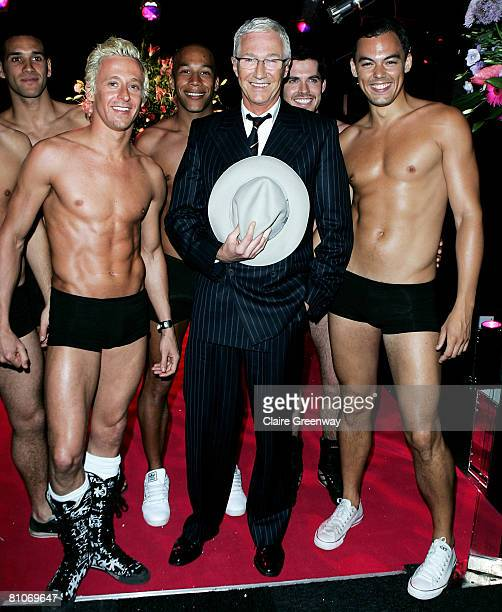 Paul O'Grady arrives at the afterparty following the world premiere of 'Sex And The City' at Old Billingsgate on May 12 2008 in London England