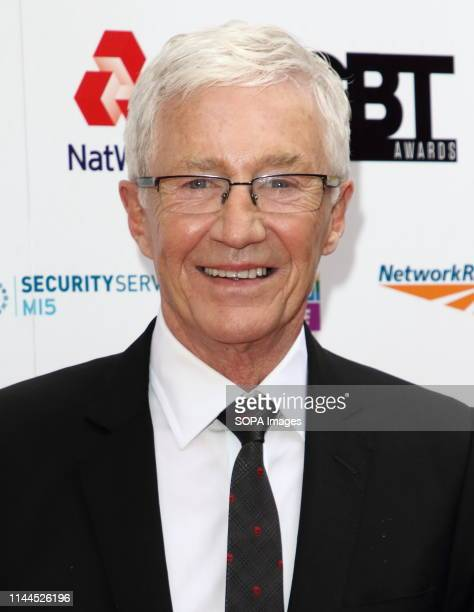 Paul O'Grady arrives on the red carpet at the British LGBT Awards at the London Marriott Hotel Grosvenor Square.