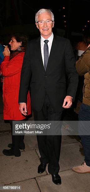 Paul O'Grady attend the Pride of Britain awards at The Grosvenor House Hotel on October 6 2014 in London England