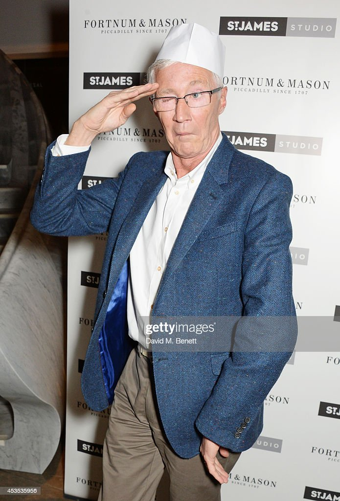 Paul O'Grady attends an after party celebrating the press night performance of 'Celia Imrie: Laughing Matters' at the St James Theatre on August 12, 2014 in London, England.