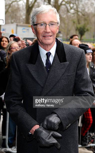 Paul O'Grady attends the 2014 TRIC Awards at The Grosvenor House Hotel on March 11 2014 in London England