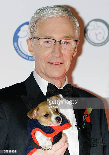 Paul O'Grady attends the Collars Coats Gala Ball at Battersea Evolution on November 8 2012 in London England
