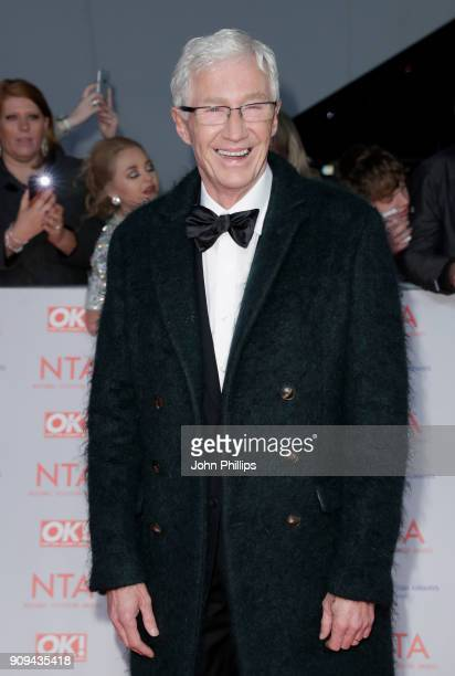 Paul O'Grady attends the National Television Awards 2018 at the O2 Arena on January 23 2018 in London England