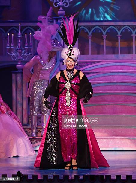Paul O'Grady attends the Opening Night performance of 'Cinderella' at London Palladium on December 14 2016 in London England