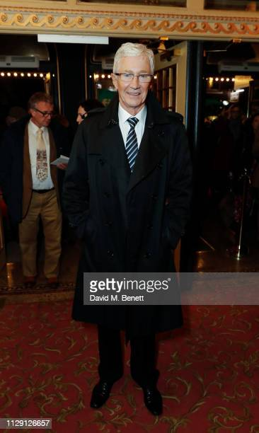 Paul O'Grady attends the press night performance of 'Ian McKellen On Stage' a special one man show celebrating his 80th birthday at Duke Of York's...
