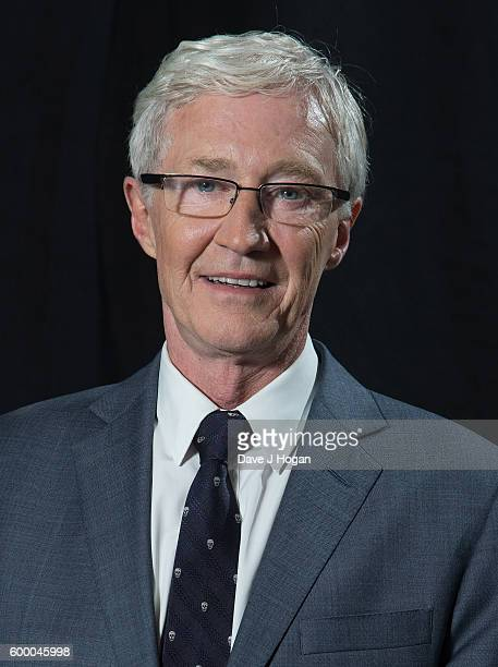 Paul O'Grady poses backstage at the Daily Mirror and RSPCA Animal Hero Awards at Grosvenor House on September 7 2016 in London England