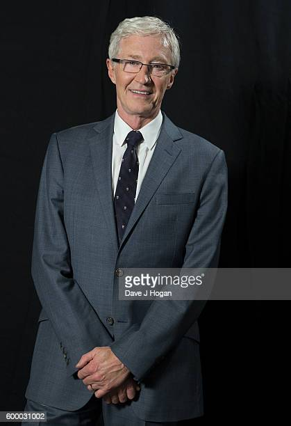 Paul O'Grady poses backstage for Daily Mirror and RSPCA Animal Hero Awards at Grosvenor House on September 7 2016 in London England