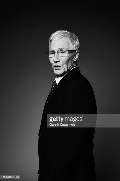 Paul O'Grady poses in the Portrait Studio during the 21st National Television Awards at The O2 Arena on January 20 2016 in London England