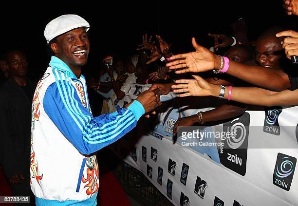 Paul Okoye of P-Square arrives for the MTV Africa Music Awards 2008 at the Abuja Velodrome on November 22, 2008 in Abuja, Nigeria.