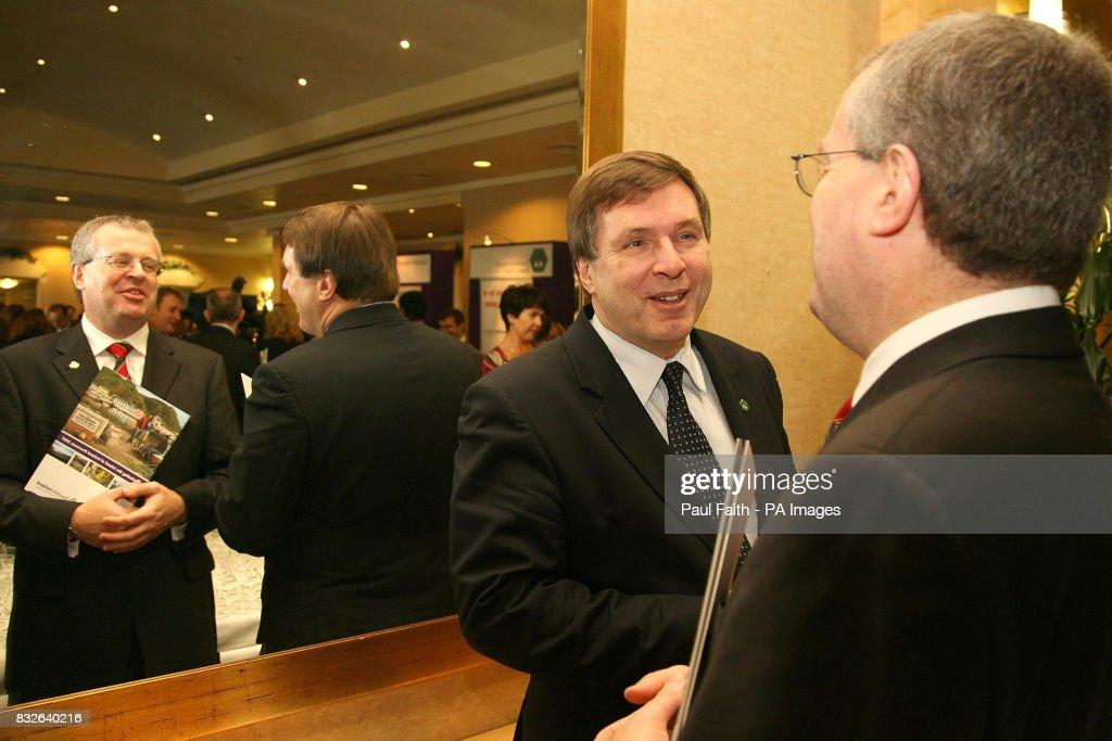 Paul O Toole Tourism Ireland Chief Executive And Alan Clarke News Photo Getty Images