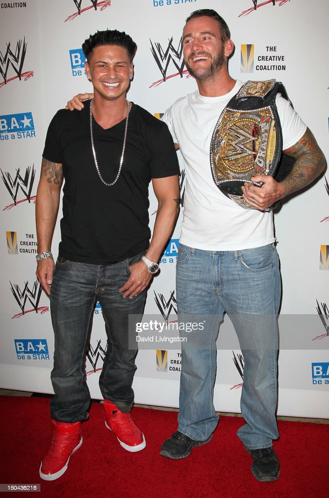 WWE And The Creative Coalition's SummerSlam Kickoff Party : News Photo