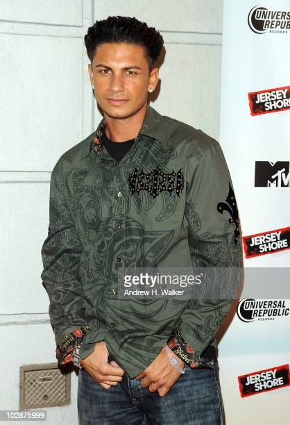 "Paul ""Pauly D"" DelVecchio attends the ""Jersey Shore"" album release party at Marquee on July 13, 2010 in New York City."
