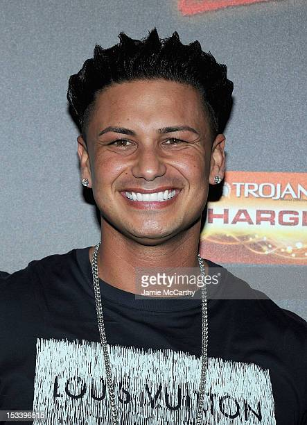 Paul Pauly D DelVecchio attends the Jersey Shore Final Season Premiere at Bagatelle on October 4 2012 in New York City