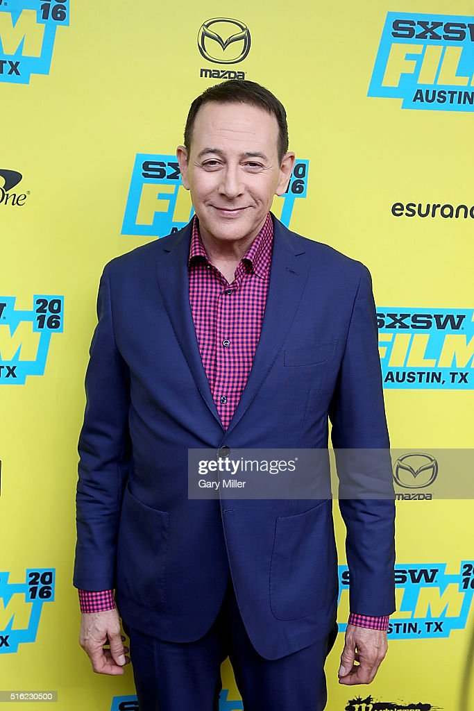 Paul 'Pee-Wee Herman' Reubens attends the premiere of 'Pee-Wee's Big Holiday' at the Paramount Theater during the South by Southwest Film Festival on March 17, 2016 in Austin, Texas.