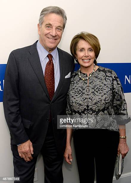Paul Pelosi and Congresswoman Nancy Pelosi attend the White House Correspondents' Dinner Weekend PreParty hosted by The New Yorker's David Remnick at...