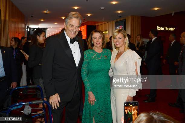 Paul Pelosi Nancy Pelosi and Gretchen Carlson attend the Time 100 Gala 2019 at Jazz at Lincoln Center on April 23 2019 in New York City