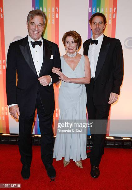 Paul Pelosi Nancy Pelosi and Paul Pelosi Jr attend the 35th Kennedy Center Honors at the Kennedy Center Hall of States on December 2 2012 in...
