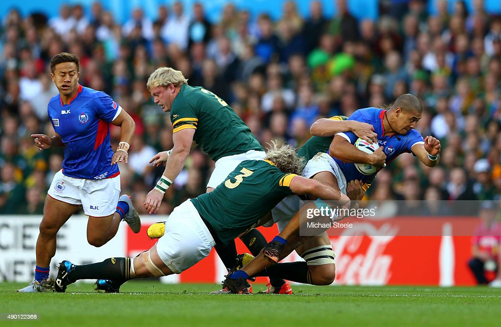 South Africa v Samoa - Group B: Rugby World Cup 2015 : News Photo
