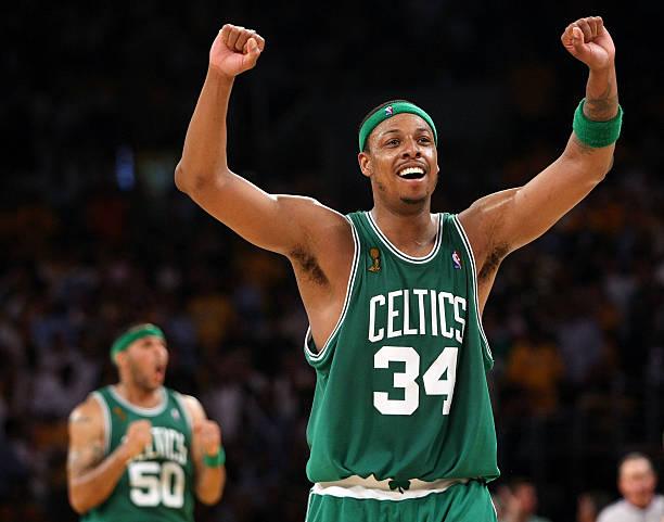 best cheap 65a21 e17b1 Celtics to Retire Pierce's No. 34 - Digital Sports Desk