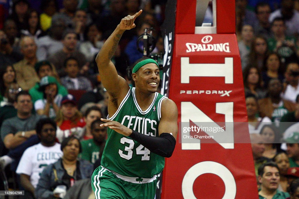 Boston Celtics v New Jersey Nets