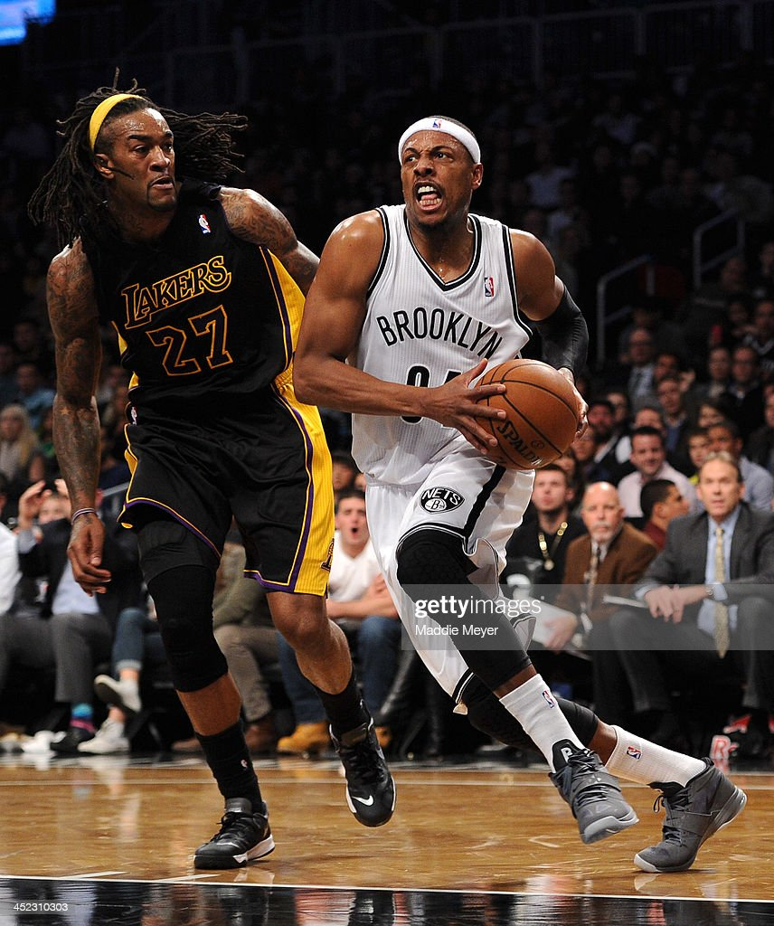 Los Angeles Lakers v Brooklyn Nets