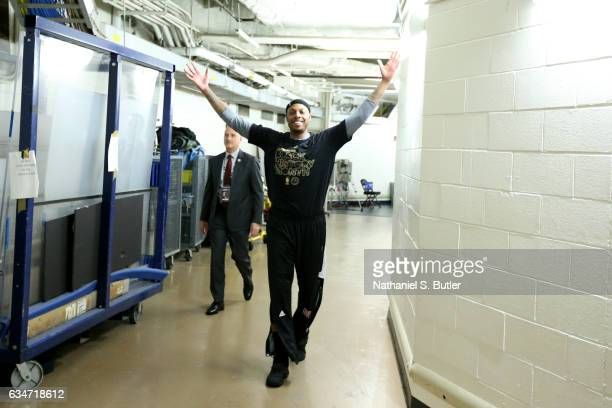 Paul Pierce of the LA Clippers poses for a photo while walking to the court before the game against the New York Knicks on February 8 2017 at Madison...