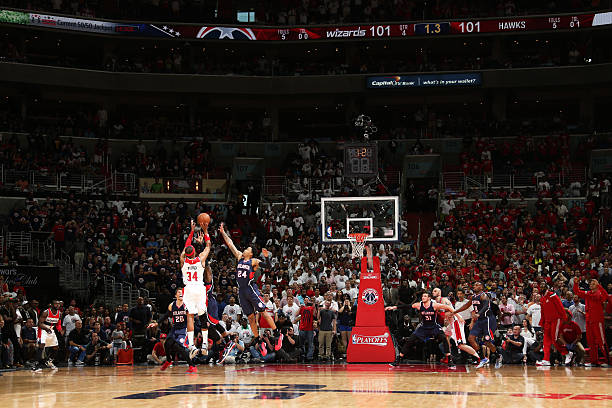 Atlanta Hawks v Washington Wizards-Game Three