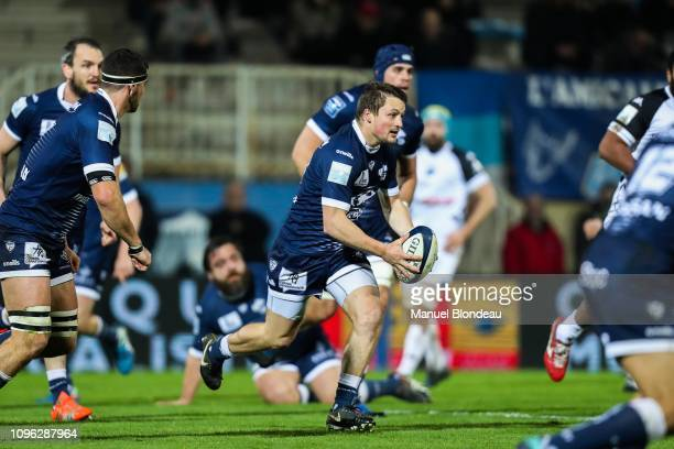 Paul Pimienta of Colomiers during the Pro D2 match between Colomiers and Vannes on February 8 2019 in Colomiers France