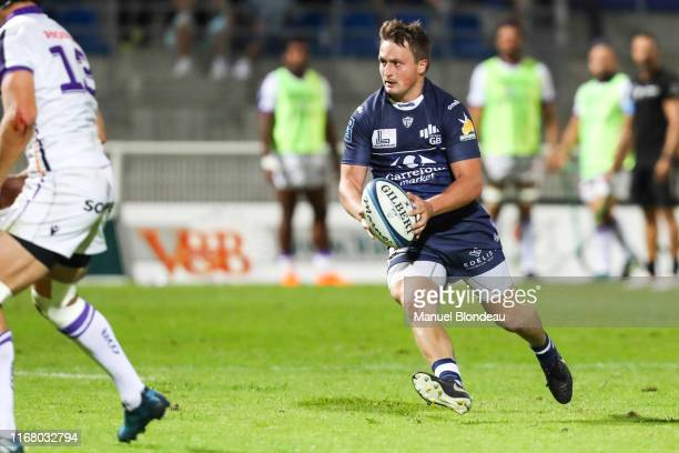 Paul PIMIENTA of Colomiers during the Pro D2 match between Colomiers and Angouleme on September 13 2019 in Colomiers France