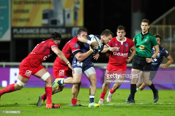 Paul PIMIENTA of Colomiers during the Pro D2 match between Colomiers and Stade Aurillacois on November 22 2019 in Colomiers France
