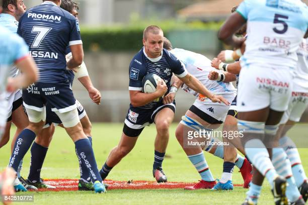 Paul Pimienta of Colomiers during the Pro D2 match between Colomiers and Bayonne on September 3 2017 in Colomiers France