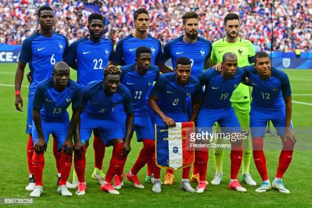 Paul Pogba midfielder Samuel Umtiti defender Raphael Varane defender Olivier Giroud forward Hugo Lloris goalkeeper N'golo Kante midfielder Benjamin...