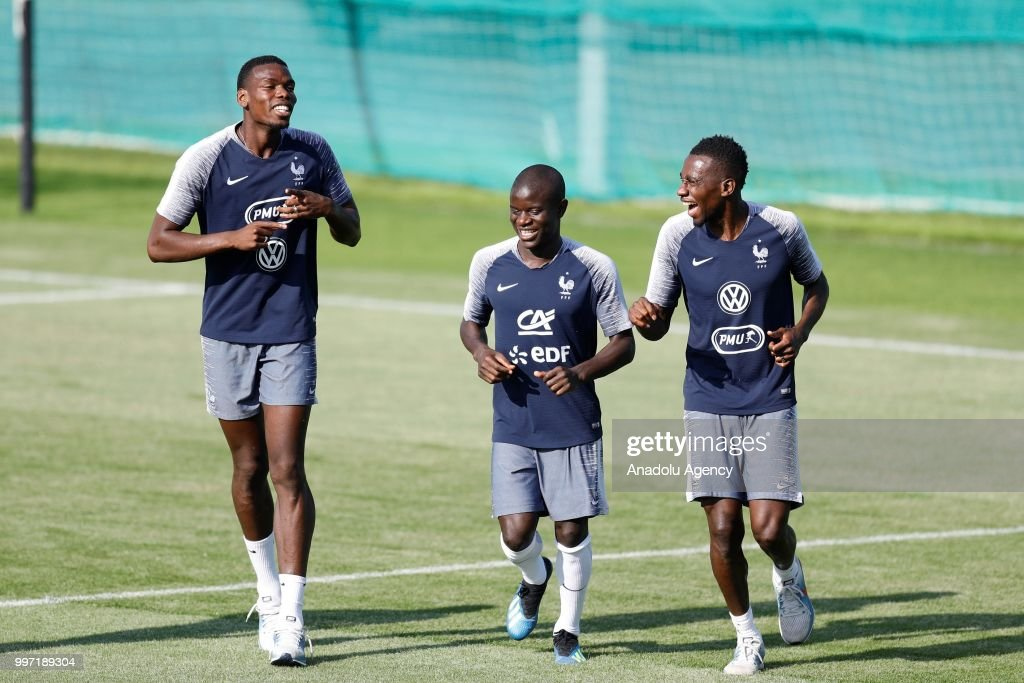 2018 FIFA World Cup: Training Session of France : News Photo