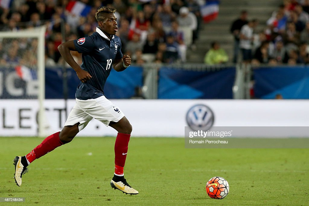 Paul Pogba of France during International Friendly between France and Serbia on September 7, 2015 in Bordeaux, France.