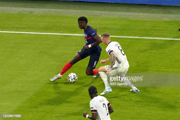 Paul Pogba of France during the UEFA Euro 2020 match between France and Germany at Allianz Arena on June 15, 2021 in Munich, Germany