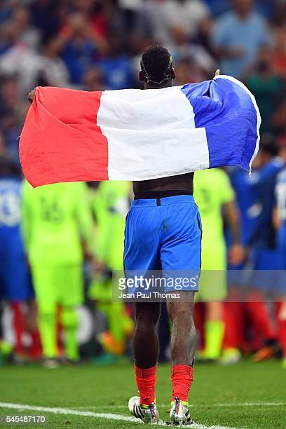 Paul POGBA of France during the Uefa Euro Semi final between France and Germany at Stade Velodrome on July 7 2016 in Marseille France