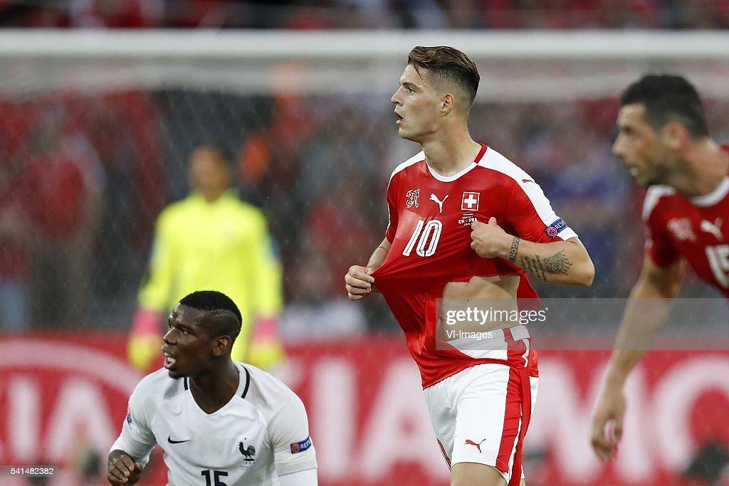 UEFA EURO 2016 Group A - 'Switzerland v France' : News Photo