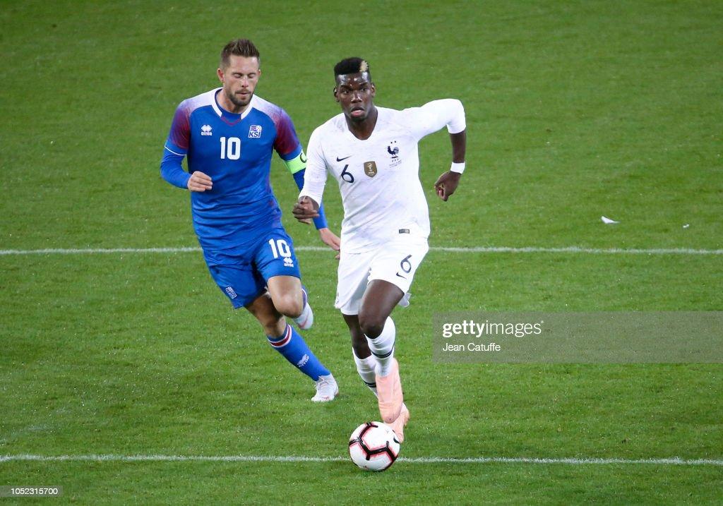 France v Iceland - International friendly : News Photo