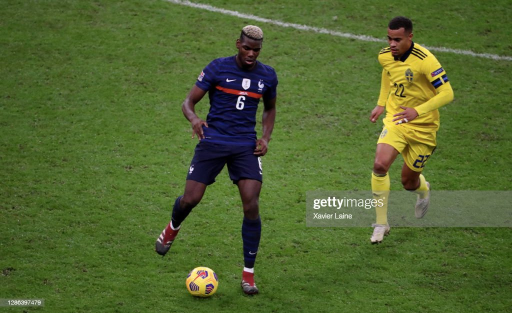 France v Sweden - UEFA Nations League : News Photo