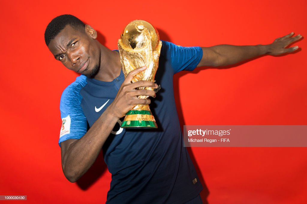 Portraits of the World Cup Winner