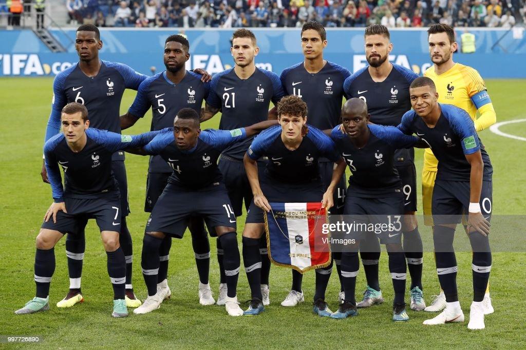 "FIFA World Cup 2018 Russia""France v Belgium"" : ニュース写真"