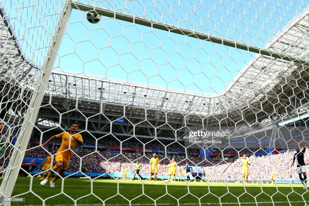 France 2 - 1 Australia - 2018 FIFA World Cup