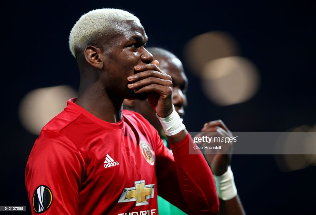 Manchester United v AS Saint-Etienne - UEFA Europa League Round of 32: First Leg : ニュース写真