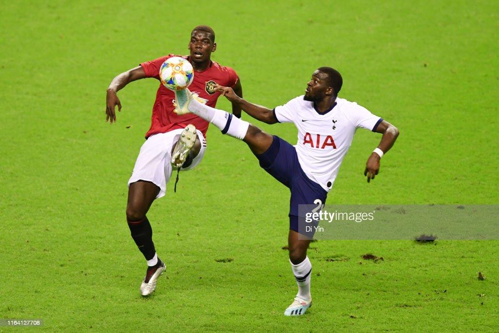 Tottenham Hotspur v Manchester United - 2019 International Champions Cup : Foto jornalística