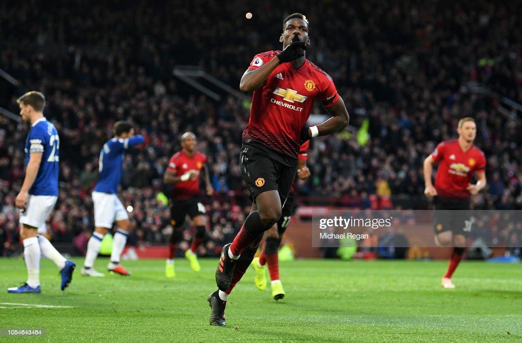 Manchester United v Everton FC - Premier League : Nachrichtenfoto